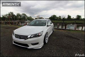 2014 Honda Accord - 19x10.5 25mm - Velgen VMB5 - Lowered Adj Coil Overs - 235/35R19