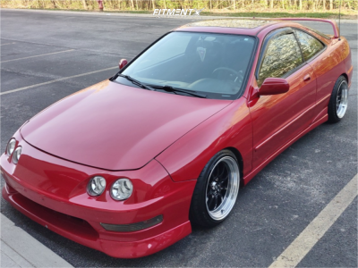 1996 Acura Integra - 16x8 15mm - MST MT11 - Stock Suspension - 195/40R16