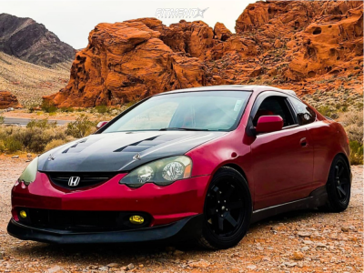 2002 Acura RSX - 17x9 35mm - MST Mt01 - Coilovers - 245/40R17