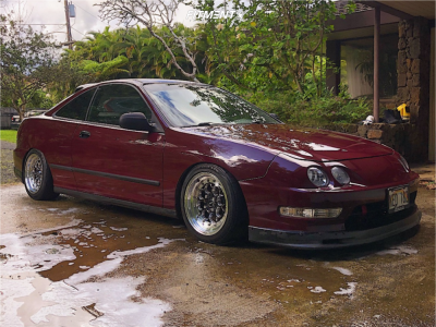 1998 Acura Integra - 15x8 20mm - VMS Revolvers - Coilovers - 195/50R15