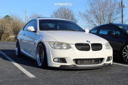 2011 BMW 335i - 19x9.5 22mm - ESR Cs3 - Coilovers - 235/35R19