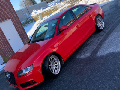 2009 Audi A4 Quattro - 18x9.5 25mm - Aodhan Ds02 - Coilovers - 245/35R18