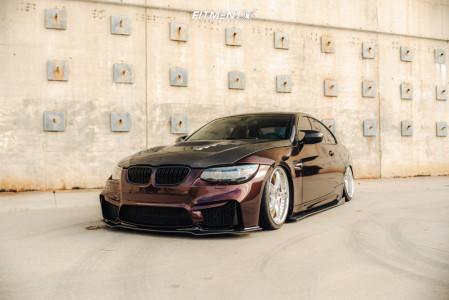 2011 BMW 328i - 19x8.5 41mm - SSR Gtx03 - Air Suspension - 215/35R19
