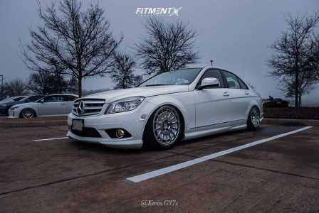 2009 Mercedes-Benz C300 - 18x8.5 42mm - 3SDM 0.66 - Air Suspension - 215/40R18
