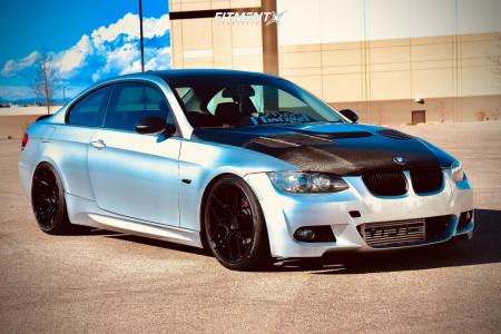 2007 BMW 335i - 19x8.5 33mm - Rohana Rfx11 - Coilovers - 225/35R19