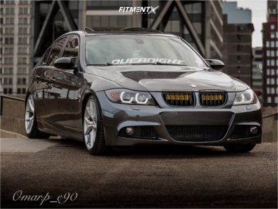 2008 BMW 328i - 18x8.5 35mm - Michelin Pilot Sport A/s 3+ Aff7 - Lowering Springs - 225/40R18