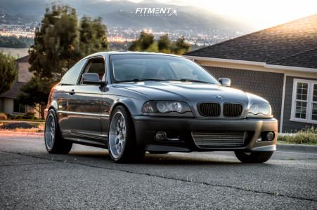 2001 BMW 330Ci - 18x8.5 40mm - BBS Rs-gt - Air Suspension - 265/35R18