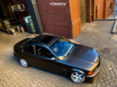 2001 BMW 330Ci - 18x9.5 23mm - Work Meister S1 3p - Coilovers - 225/35R18