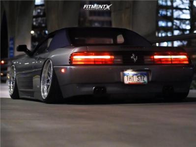 1994 Ferrari 348 Spider - 18x8.5 0mm - SevenK Inzo - Air Suspension - 205/40R18