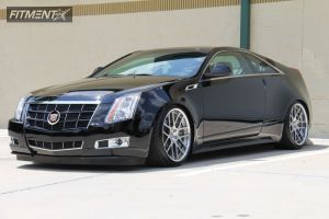 2011 Cadillac CTS - 20x10 45mm - BC Racing TA04 - Lowered Adj Coil Overs - 255/35R20
