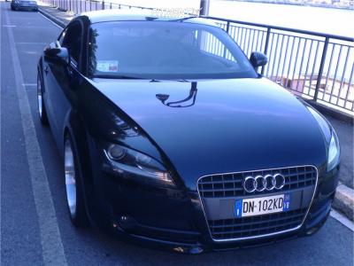 2008 Audi TT - 19x9.5 45mm - Cades Tyrus - Lowering Springs - 255/35R19