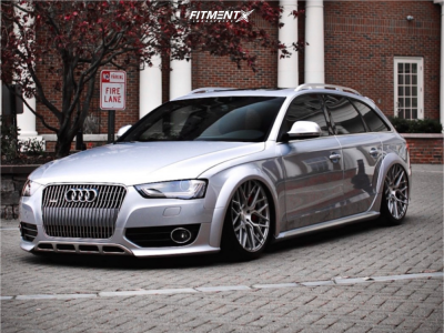 2015 Audi allroad - 20x10 33mm - Rohana Rfx10 - Air Suspension - 255/35R20