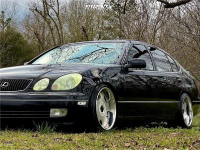 2003 Lexus GS430 - 18x9 24mm - SSR Vienna Dish - Coilovers - 225/40R18