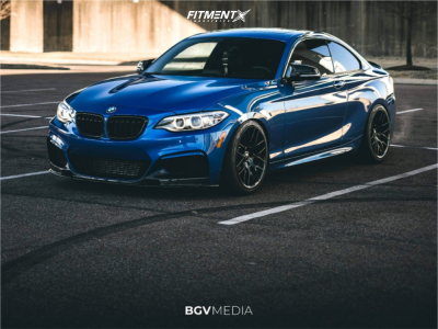 2016 BMW M235i - 18x8.5 35mm - Avant Garde M359 - Coilovers - 225/40R18