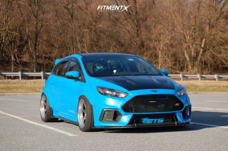 2017 Ford Focus - 18x10.5 12mm - Kansei Roku - Coilovers - 285/35R18