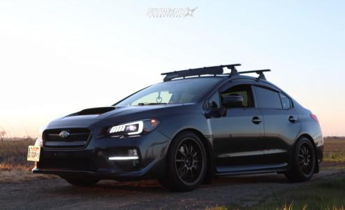 2017 Subaru WRX - 18x8.75 30mm - HD Clutch - Coilovers - 245/40R18