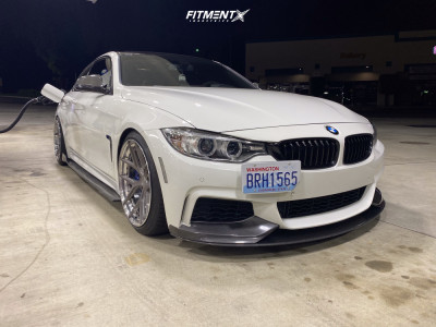2017 BMW 440i - 19x9.5 32mm - BC FORGED Hcs21s - Lowering Springs - 225/40R19