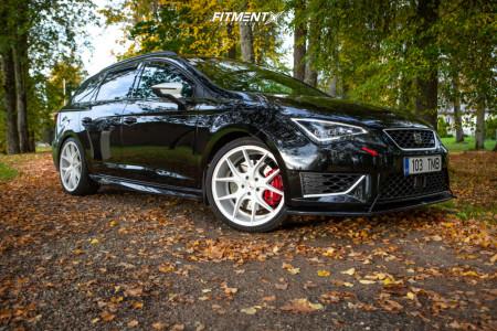 2016 Seat Leon - 19x8.5 42mm - Zito ZS05 - Stock Suspension - 235/35R19
