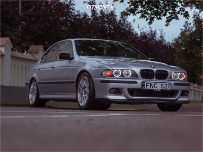 1999 BMW 540i - 18x8 20mm - Forzza Reiven BY773 - Stock Suspension - 245/40R18