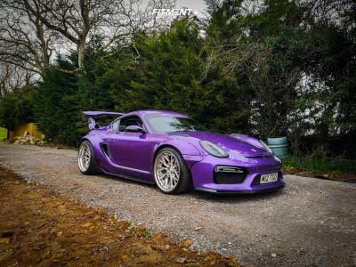 2006 Porsche Cayman - 20x9 -5mm - Tekoa Forged TKF600 - Lowering Springs - 255/30R20