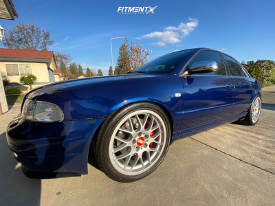 2002 Audi S4 - 18x8 32mm - BBS Rx - Coilovers - 235/40R18