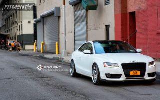 2012 Audi A5 - 20x9 20mm - K3 Projekt Projekt 1 - Lowered Adj Coil Overs - 255/35R20