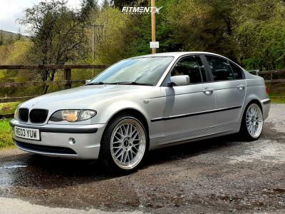 2003 BMW 3 Series - 19x8.5 35mm - Japan Racing Jr23 - Stock Suspension - 225/35R19
