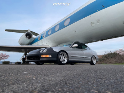 2000 Acura Integra - 16x8 20mm - MST Time Attack - Coilovers - 205/40R16
