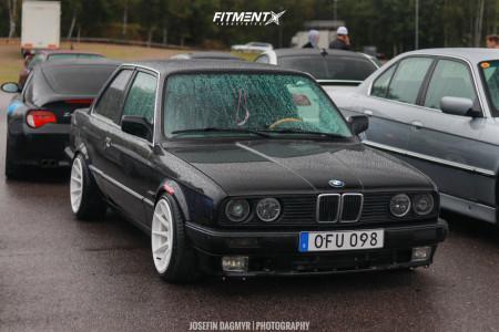 1989 BMW 325i - 16x8.25 0mm - XXR 527 - Coilovers - 195/40R16