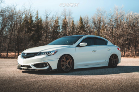 2017 Acura ILX - 18x9.5 22mm - Kansei Knp - Coilovers - 225/40R18