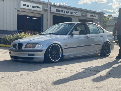 2000 BMW 323i - 18x9.5 22mm - ESR Sr01 - Coilovers - 215/35R18