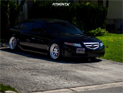 2006 Acura TL - 19x9.5 22mm - Aodhan Ds01 - Coilovers - 225/35R19
