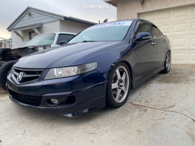 2006 Acura TSX - 18x7.5 44mm - Racing Hart Evolution C5 - Coilovers - 235/40R18