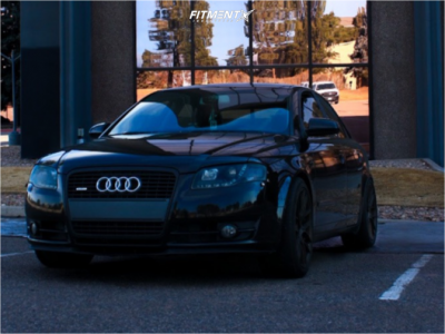 2007 Audi A4 Quattro - 18x8.5 35mm - Aodhan Ah-x - Coilovers - 245/40R18