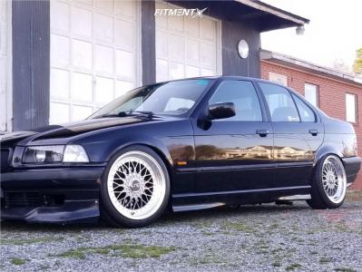 1998 BMW 328i - 17x8.5 15mm - Jnc Jnc004 - Coilovers - 205/45R17