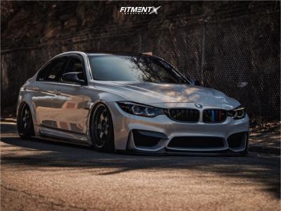 2016 BMW M3 - 19x9.5 25mm - Work Meister S1 3p - Air Suspension - 255/35R19