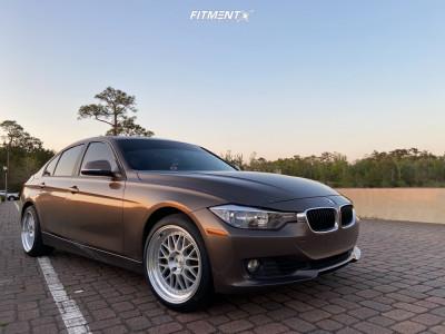 2013 BMW 328i - 18x9.5 35mm - Aodhan AH02 - Stock Suspension - 235/40R18