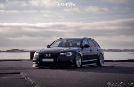 2016 Audi A6 - 20x10 35mm - Rotiform Las-r - Air Suspension - 245/30R20