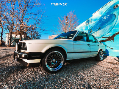 1987 BMW 325i - 16x8 20mm - XXR 531 - Lowering Springs - 205/45R16