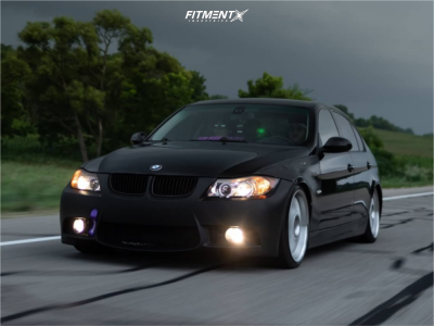 2007 BMW 328i - 19x9.5 35mm - Jnc Jnc005 - Coilovers - 235/35R19