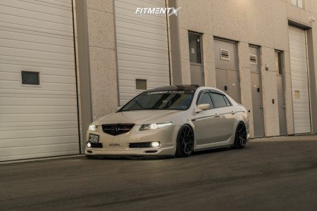 2006 Acura TL - 18x9.5 35mm - Rotiform Kps - Coilovers - 225/40R18