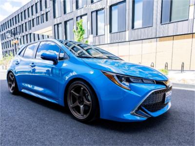 2021 Toyota Corolla - 18x9.5 45mm - Enkei TS-5 - Lowering Springs - 225/40R18