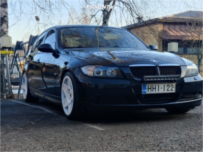 2007 BMW 3 Series - 18x8.5 35mm - 3SDM 0.05 - Coilovers - 225/40R18