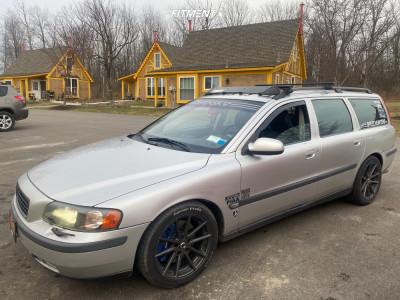 2001 Volvo V70 - 17x8 40mm - TSW Bathurst - Lowering Springs - 235/45R17