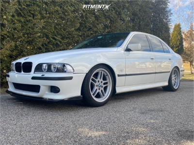 1997 BMW 528i - 18x9 22mm - BMW Style 37 - Coilovers - 275/40R18