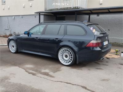 2008 BMW 528i - 20x8.5 35mm - Rotiform Las-r - Lowering Springs - 235/35R20