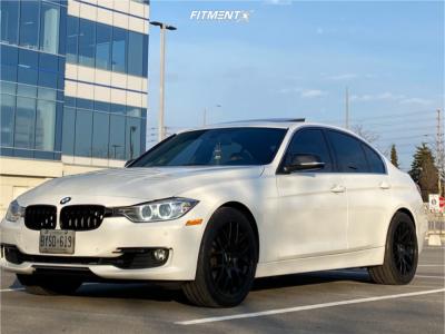 2015 BMW 328i xDrive - 19x8.5 35mm - Apex Ec-7 - Stock Suspension - 245/40R19