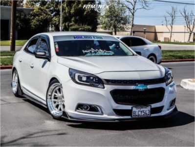 2016 Chevrolet Malibu Limited - 18x9.5 35mm - Aodhan Ds08 - Coilovers - 235/40R18