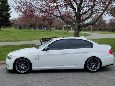 2010 BMW 328i xDrive - 19x9 30mm - Curva C300 - Coilovers - 235/40R19