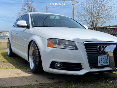 2010 Audi A3 - 17x8.5 35mm - MST Mt13 - Coilovers - 245/40R17